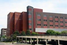 福赛斯县拘留中心在温斯顿萨兰姆 免版税库存图片