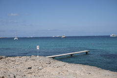 福门特拉岛 库存图片