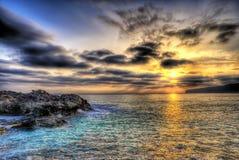 福门特拉岛- Islas巴利阿 库存图片