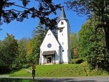 福音传教士教会Tatras塔  库存照片