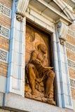 福音传教士马修雕象 库存照片