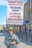 福音传教士高因弗内斯街道 免版税库存照片