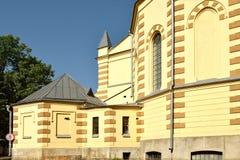 福音派路德教会Stt 大教堂保罗・彼得・彼得斯堡俄国s圣徒 免版税库存图片