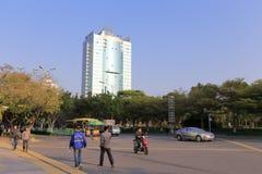 福建工业银行大厦 库存图片