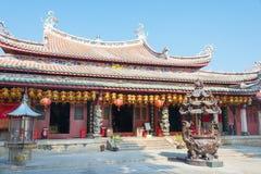 福建,中国- 2015年12月28日:Tianhou宫殿(天狮后屿锣) fa 免版税图库摄影