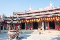 福建,中国- 2015年12月28日:Tianhou宫殿(天狮后屿锣) fa 库存照片