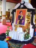 离去的泰国公主Galyani 免版税库存图片