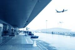 离去的飞行 库存图片