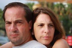 离婚决策 免版税库存图片