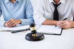 离婚判决婚姻, hus的溶解或取消 库存图片
