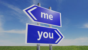 离婚和分隔 向量例证
