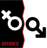离婚 免版税库存图片