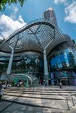 离子果树园购物中心,新加坡 库存照片