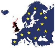 离开欧盟的英国 皇族释放例证