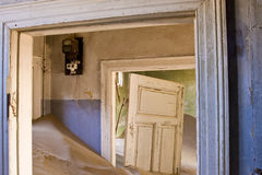 离开的房子 免版税库存照片