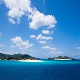 离开的海岛热带的冲绳岛 免版税库存照片