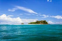 离开的海岛 图库摄影