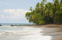 离开的海滩德雷克海湾 免版税库存图片