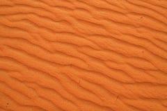 离开红色沙子 库存图片