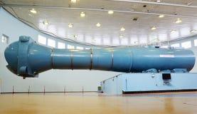 离心机在宇航员培训中心 库存照片