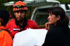 离经叛道之人的龙卷风在奥克兰,新西兰 库存图片