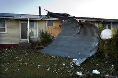离经叛道之人的龙卷风在奥克兰,新西兰 免版税库存图片