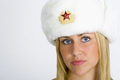 秀丽俄语 库存照片