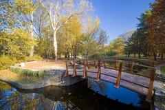 秀丽公园 库存照片