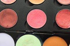 秀丽化妆用品油漆 库存照片
