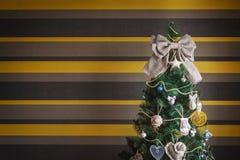 秀丽圣诞树 免版税图库摄影