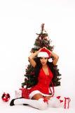 秀丽圣诞节 免版税库存图片