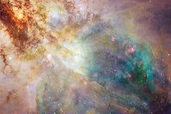 秀丽外层空间 在高分辨率理想的科幻幻想墙纸的 美国航空航天局装备的这个图象的元素 库存图片
