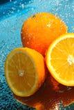 秀丽新鲜的桔子 免版税库存照片