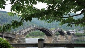 秀丽桥梁在日本 库存照片