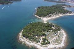 秀丽海岛 库存图片