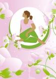 秀丽瑜伽 免版税库存照片