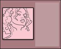 秀丽粉红色 库存图片