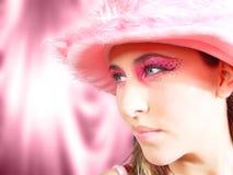 秀丽粉红色 免版税图库摄影