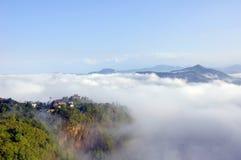 秀丽自然尼泊尔s 免版税图库摄影