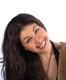 秀丽自然微笑 免版税库存图片