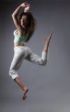 秀丽舞蹈女孩 图库摄影