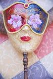 秀丽面具和垫铁 库存照片