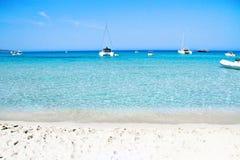 秀丽,法国可西嘉岛-逃出克隆岛  免版税库存照片