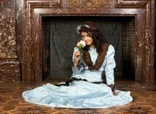 秀丽维多利亚女王时代的著名人物 免版税图库摄影