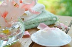 秀丽治疗的肥皂 免版税库存照片