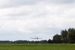 私人喷气式飞机停放 免版税库存图片