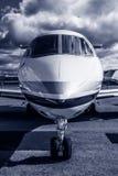 私人喷气式飞机 免版税库存照片