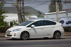 私人汽车丰田Prius杂种体系 免版税库存照片