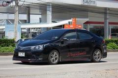 私人汽车,丰田卡罗拉Altis 第十一一代 库存图片
