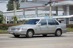 私人汽车,富豪集团轿车汽车S60 图库摄影